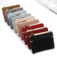 women wallet short women coin purse fashion wallets for woman card holder small ladies wallet female hasp mini clutch for girl