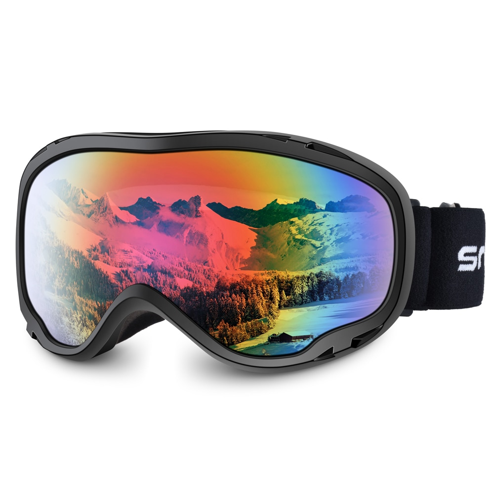 Polarized Outdoor Ski Glasses Double Snowboard Goggles Adult Card Glasses Windproof Antivaho Gafas Skiing Snowboarding EF50SG