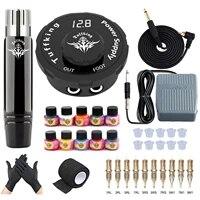 tattoo machine kit tattoo guns rotary pen permanent makeup cartridge needle body art machine for beginners artist supplies