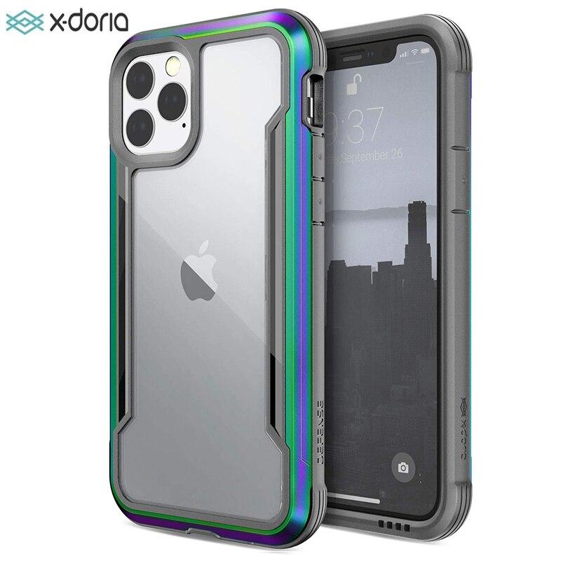 X-Doria Defense Shield чехол для телефона для iPhone 11 Pro Max военный класс падение протестированный алюминиевый чехол для iPhone 11 Pro Coque
