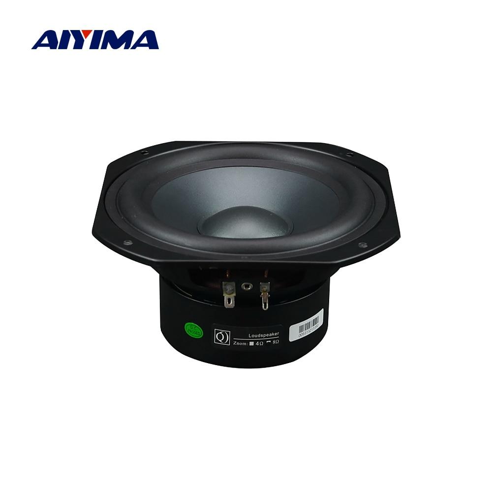 AIYIMA-Altavoz de graves de 6,5 pulgadas para cine en casa, controlador de...