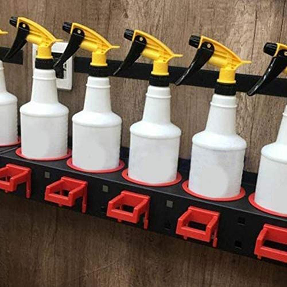 Стеллаж для хранения бутылок с распылителем абразивная подвесная направляющая Автомобильная фотография инструменты для чистки деталей ав...