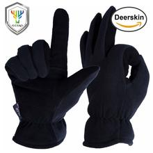 OZERO véritable Deerskin gants de Ski en plein air Sport chaud moto Anti et hiver Snowboard randonnée gants pour hommes et femmes 8007