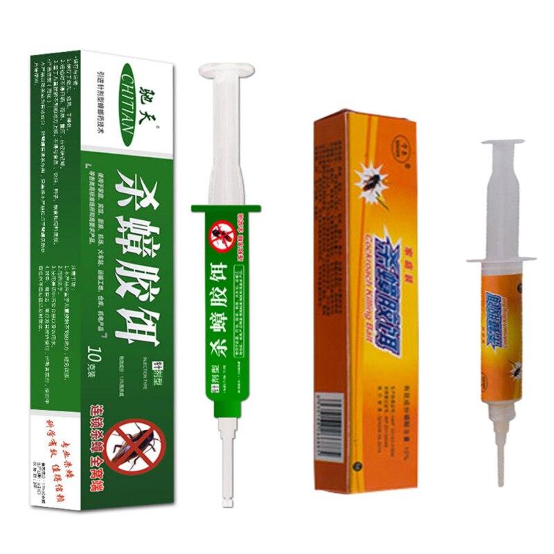 Roach Killer cebo de Gel tubos Kill exterminio de cucarachas cebo émbolo Control de Plagas 10g