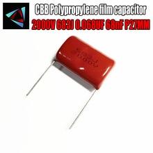 2KV 683J 2PCS 2000V 0.068UF filme de Polipropileno capacitor passo 27 P27 68nF mm