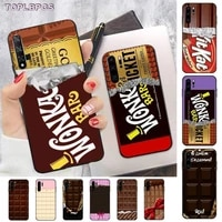 willy wonka bar with golden ticket sweet chocolate bar phone case for huawei p8 p9 p10 p20 p30 p40 pro lite psmart 2019