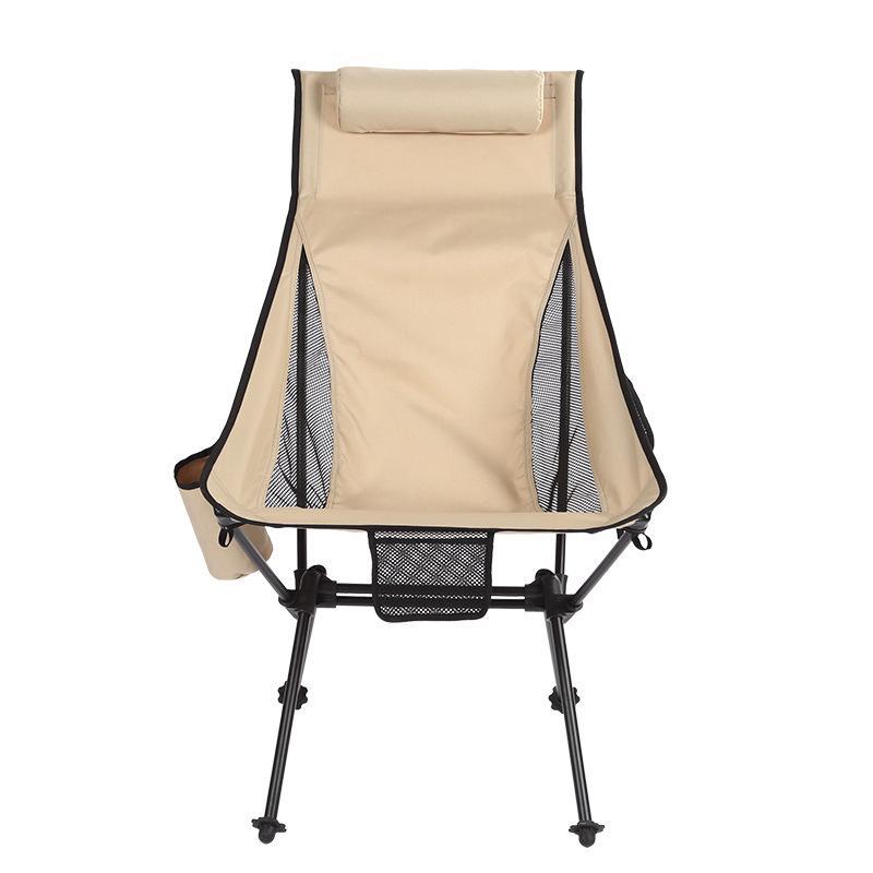 Outdoor Beach Chair Aluminum Alloy Folding Chair Camping Camping Chair Ultra Light Fishing Chair Portable Leisure Outdoor Chairs