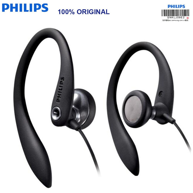 PHILIPS SHS3305-سماعة رأس رياضية ، سماعات أذن ، دعم الهواتف الذكية ، huawei ، Xiaomi ، أصلي