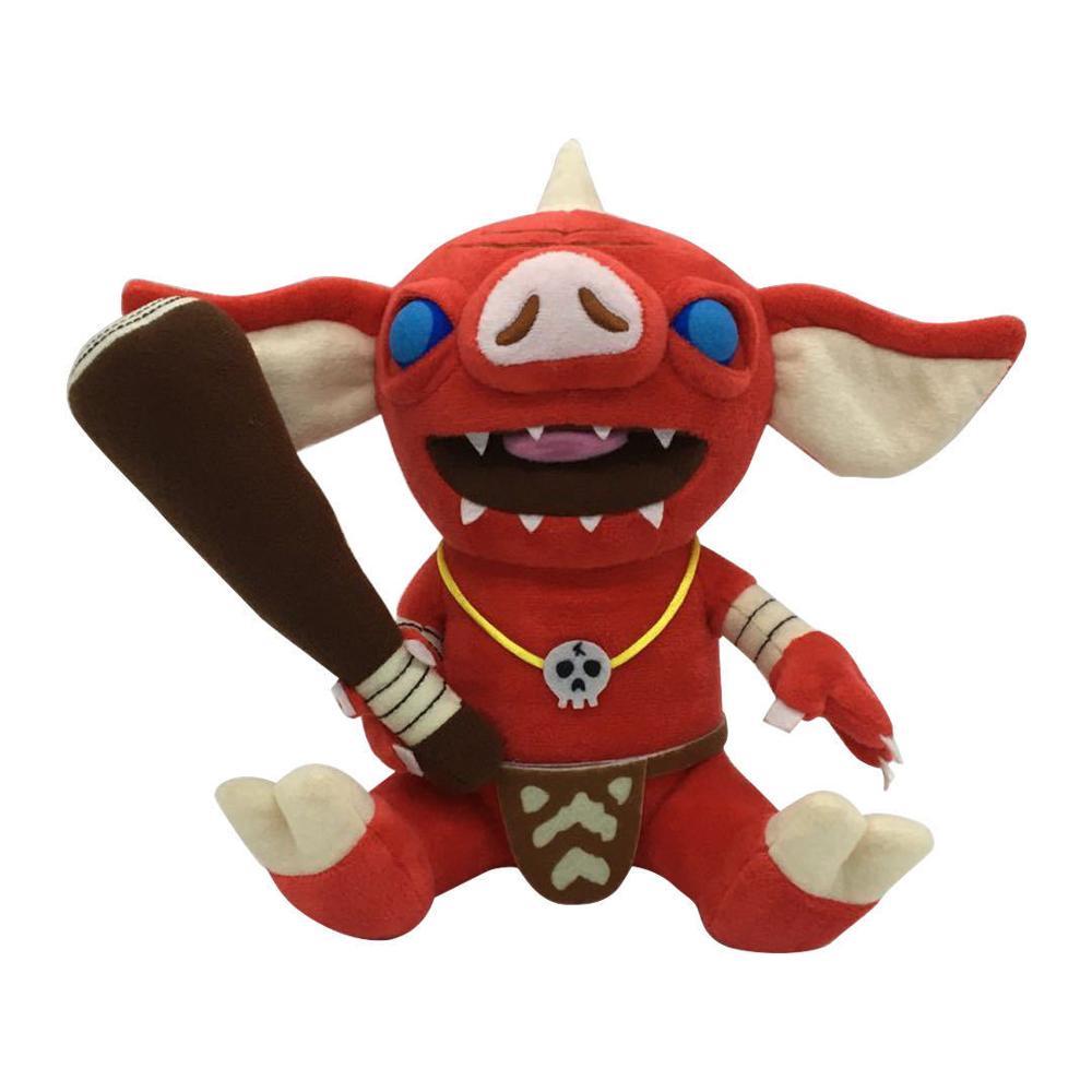 21cm a lenda de zelda respiração do selvagem bokoblin brinquedos de pelúcia macio boneco de pelúcia figura de brinquedo crianças presentes de natal