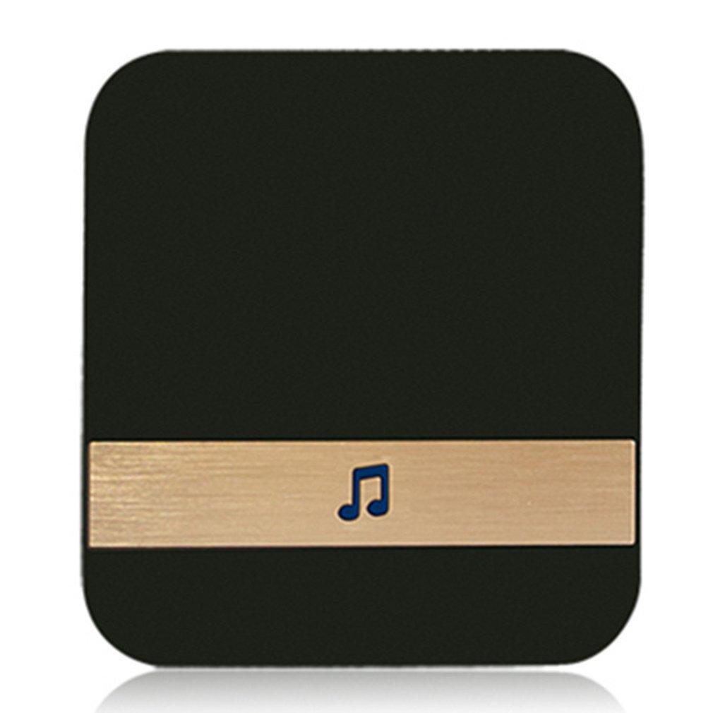 Беспроводной смарт-видеозвонок с Wi-Fi, музыкальный ресивер, Домашняя безопасность, внутренний домофон, дверной звонок, приемник 10-433 дБ, МГц