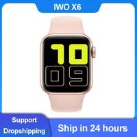 Смарт-часы IWO X6, 1,54 дюйма, Bluetooth, пульсометр