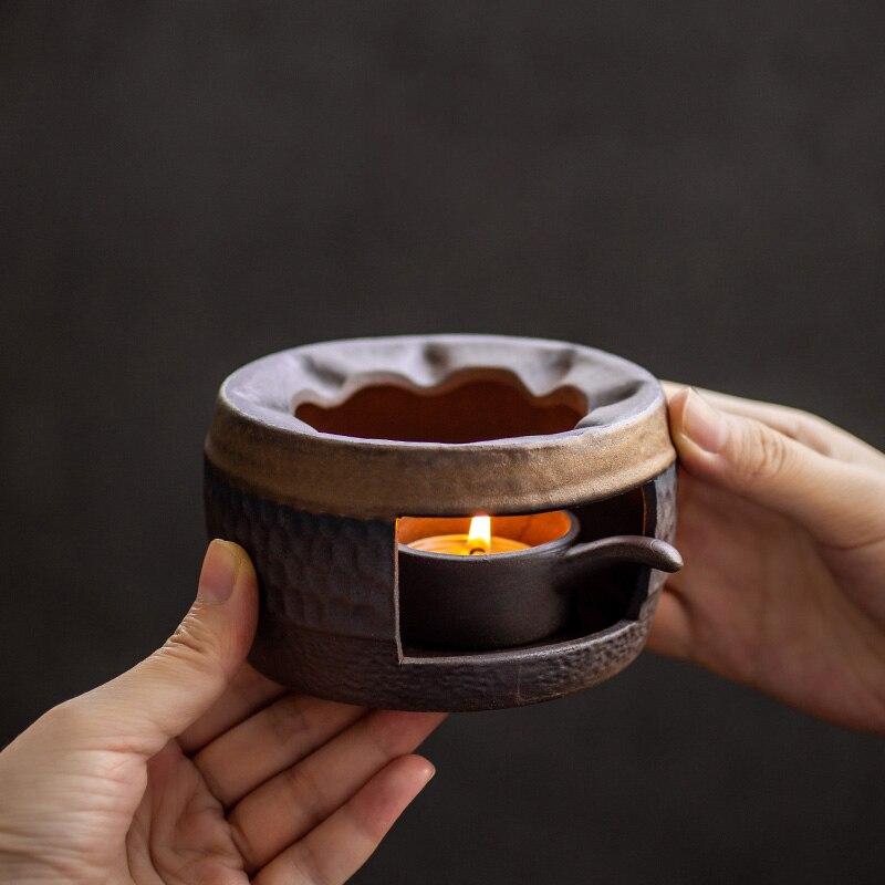 LUWU-موقد الشاي الخزفي ، طقم شاي الكونغ فو الصيني ، أدوات الشرب