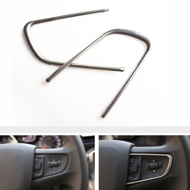 AliExpress - Stainless steel Car Steering Wheel Decorative Strips Cover Trim Stickers Fit For Peugeot 408 508 2014 2015