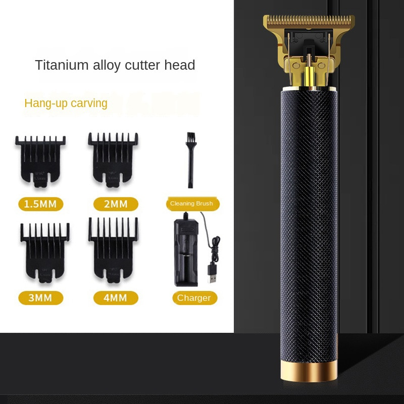 Vintage Retro T9 T10 T14 Electric Shaver Cordless Men Hair Trimmer Clipper Barber Salon Edge Wirless