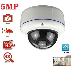 Audio Home Security Night Version 3MP IP Camera 5MP Onvif POE IP камера Home Security Camera Outdoor Dome Camera