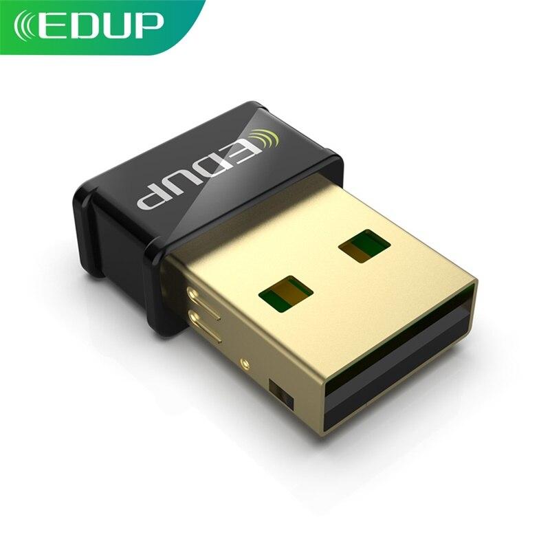 EDUP WiFi Adapter 1300Mbps USB Mini Größe Dual Band 2,4G/5,8G MU-MIMO Unterstützung AP Hot Spot drahtlose Netzwerk Karte für PC Desktop
