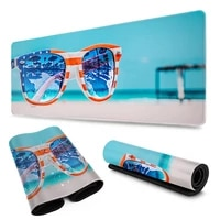 sunglasses ocean wave coconut mouse pad gaming mouse pad keyboard table mat desk blanket mouse pad computer notebook pad