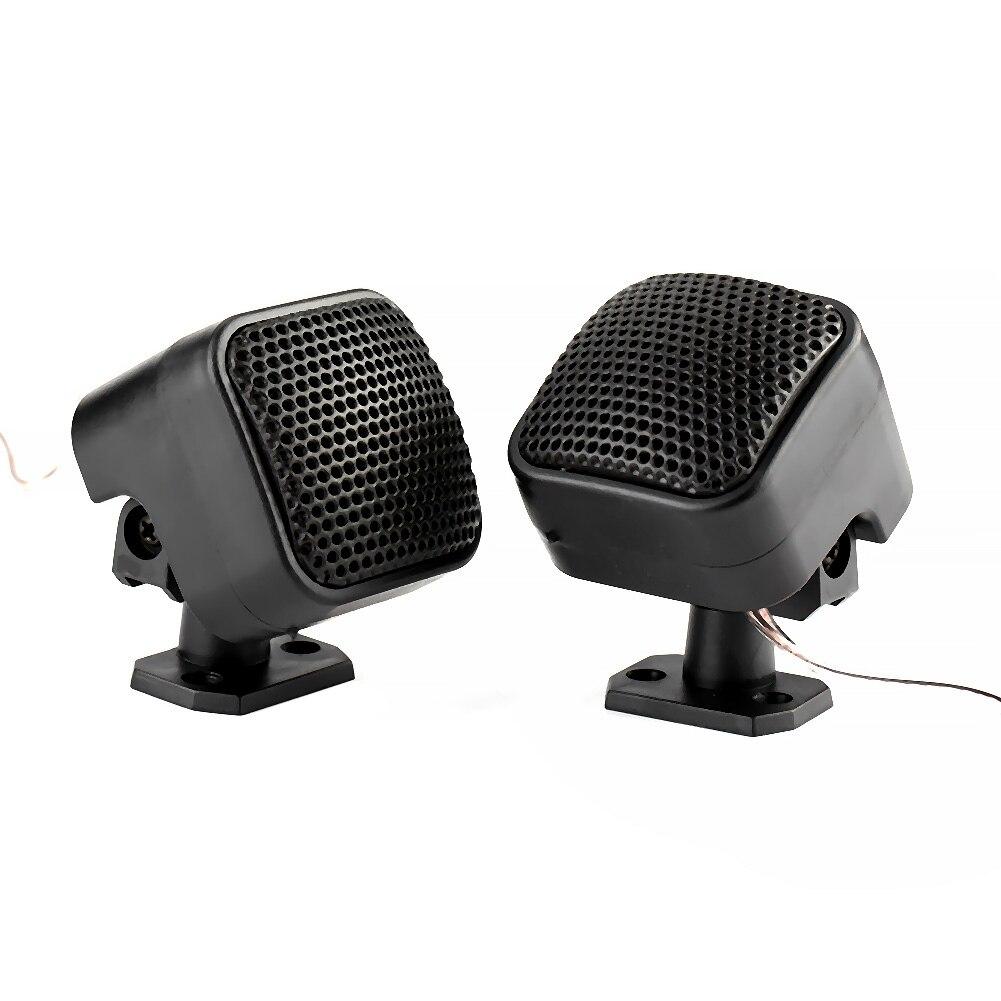 2 uds., 500W, bocina a prueba de polvo cuadrada, altavoz de música con sonido ruidoso, accesorios para coches, bocina automotriz para la mayoría de los coches