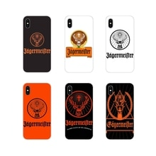 Jagermeister Logo For Apple iPhone X XR XS 11Pro MAX 4S 5S 5C SE 6S 7 8 Plus ipod touch 5 6 Accessor