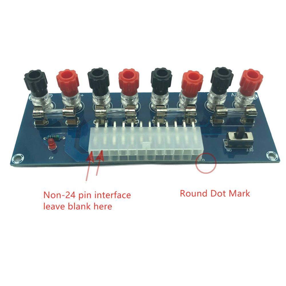 Placa adaptadora ATX de la fuente de alimentación del chasis de escritorio de XH-M229, placa de toma, módulo de salida de la fuente de alimentación, Terminal de salida
