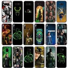 Loki Marvel Heroes En Silicone Souple étui pour samsung Galaxy A50 A70 A60 A40 A30 A20 A10 M10 M20 M30 M40 Couverture