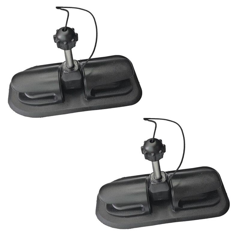 Candado Universal de paleta inflable de Pvc, para Kayak, con bloqueo de paleta, gancho de amarre Rowlock, soporte de anclaje