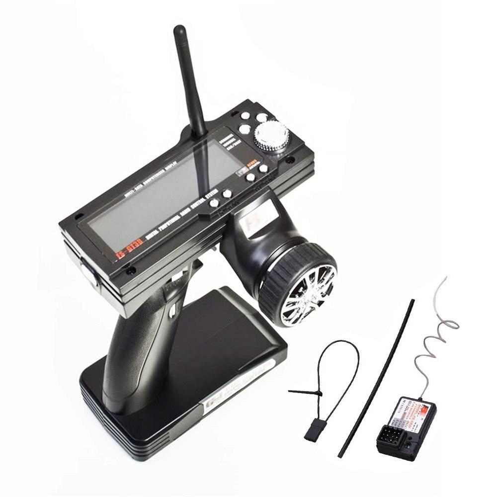 Flysky FS-GT3B 2.4G 3CH راديو نموذج التحكم عن بعد LCD الارسال والاستقبال ل RC سيارة قارب