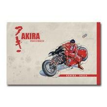 J0127 Akira Anime film 3 autocollant mural en soie affiche Art lumière toile décoration de la maison