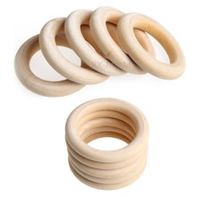 Baby Wooden Teether Nature Montessori Baby Toy Infant Teething Molars Teether Toy Accessories Wooden