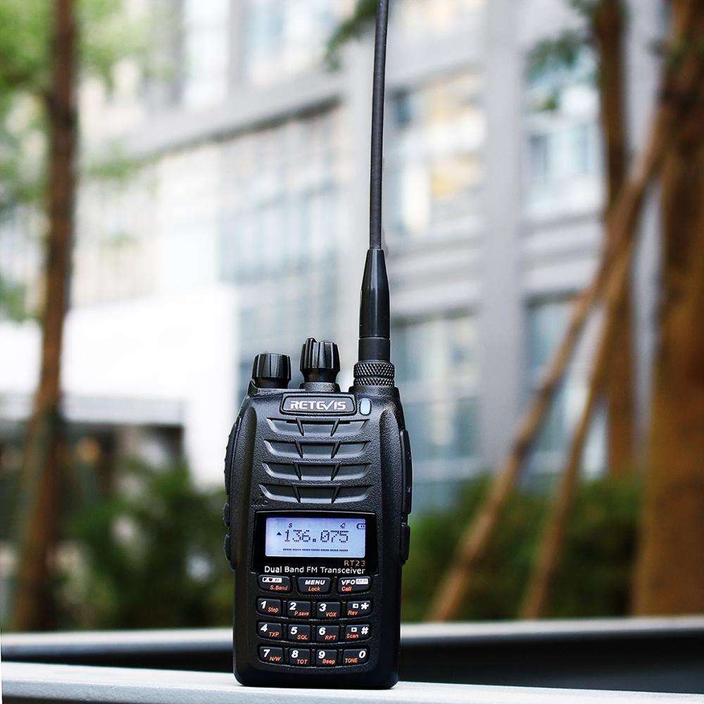 Рация Retevis RT23 двойное получение 5 Вт, 128 каналов, УКВ/УВЧ, 1750 Гц