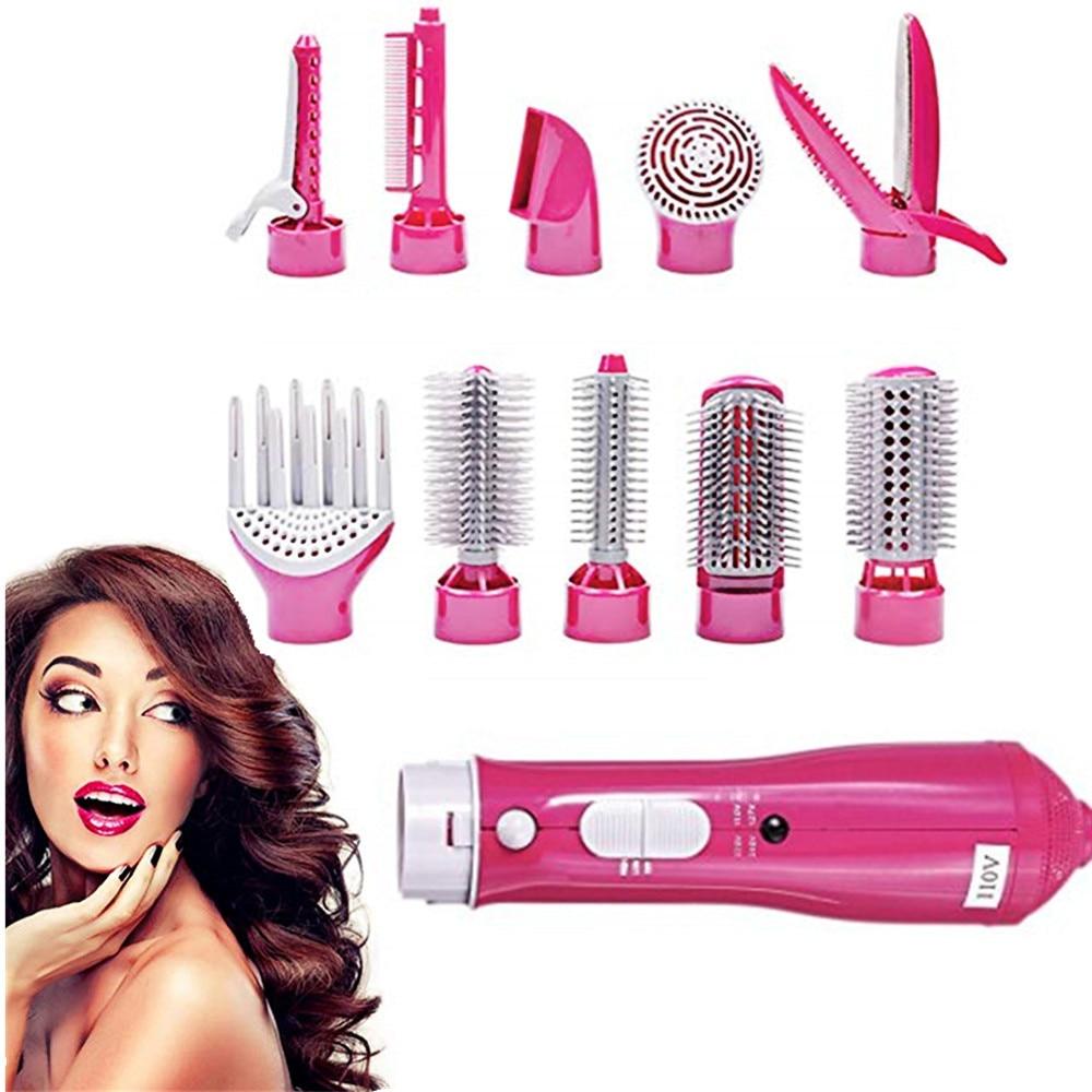 secador de cabelo escova de ar quente 10 em 1 multifuncoes estilo de cabelo escova
