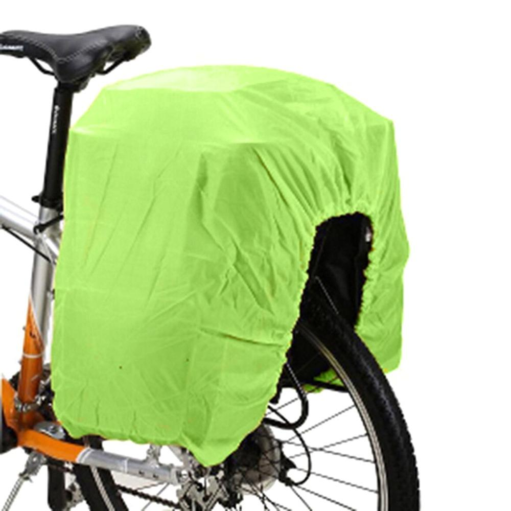 Bolsa de bicicleta de carretera asiento trasero cubierta de lluvia equipaje impermeable bolsa impermeable cubierta de polvo equipo de protección plegable