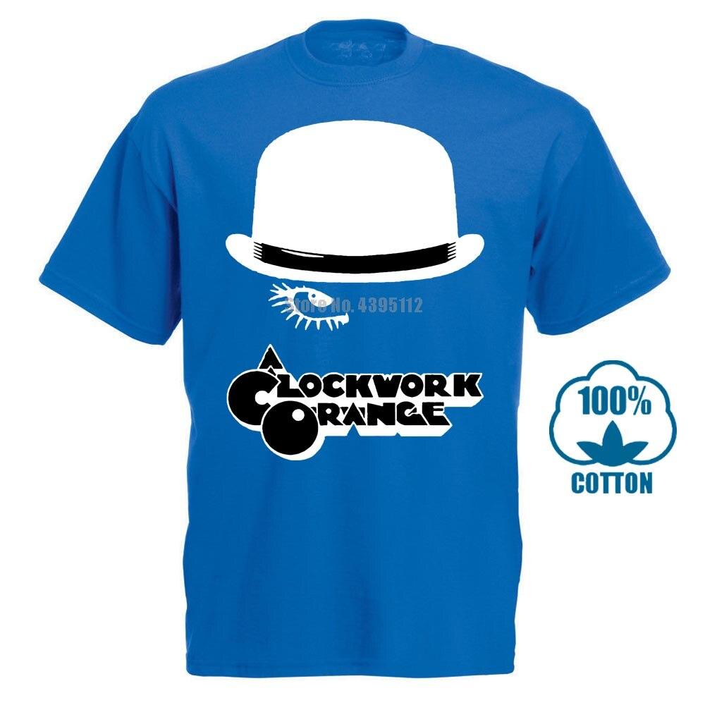Clockwork Orange Film Mann Seltsame Hemd Anime Shirts Schwarz T Shirts Kleidung T-shirt Rabatte Verkauf Onhxvs