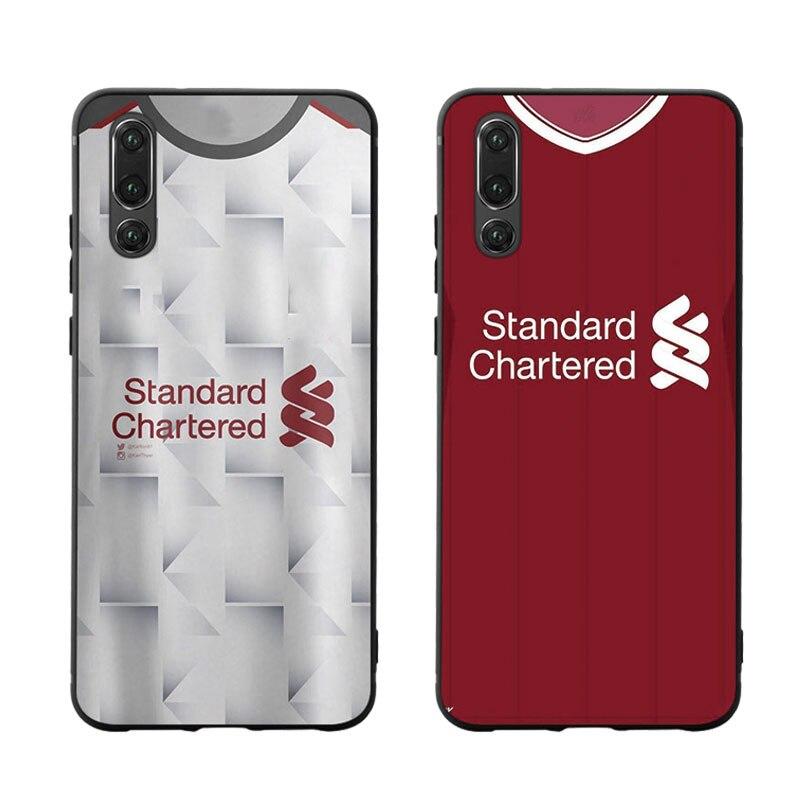 Funda de teléfono tipo Jersey para Huawei PSmart P10 P20 P30 Lite 2019 Honor 8X 9X Mate 10 20X30 lite pro