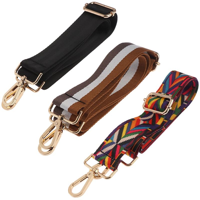 Colored Belt Bags Strap Accessories For Women PT Girl Fashion Adjustable Shoulder Handbag Strap Deco