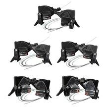 MicroNEW 3x7/8/9/10/11 vitesse VTT manette de vitesse ensemble avec câbles de changement de vitesse vélo vélo manette de vitesse levier de frein ensemble