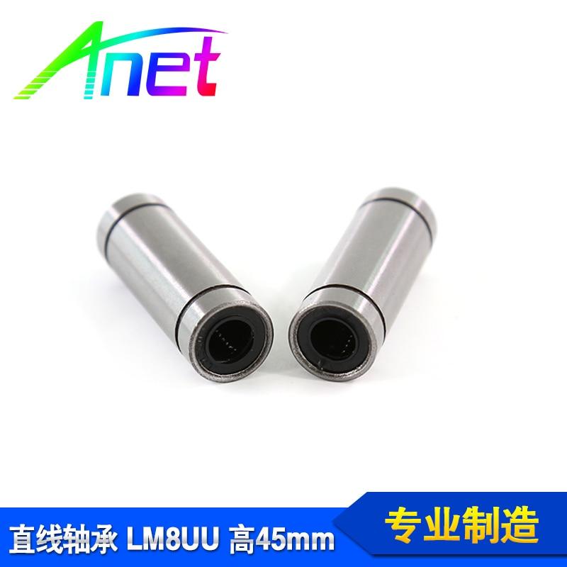 Высокое качество 4 шт. LM8LUU 24 мм Длинный линейный подшипник с шариковой втулкой для 3D-принтера аксессуары 3д принтер