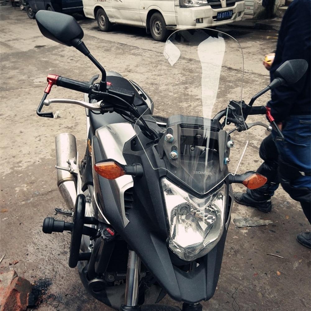 Mtkracing para honda cb 500x cb500x motocicleta tela frontal windshield carenagem brisa 2012-2019