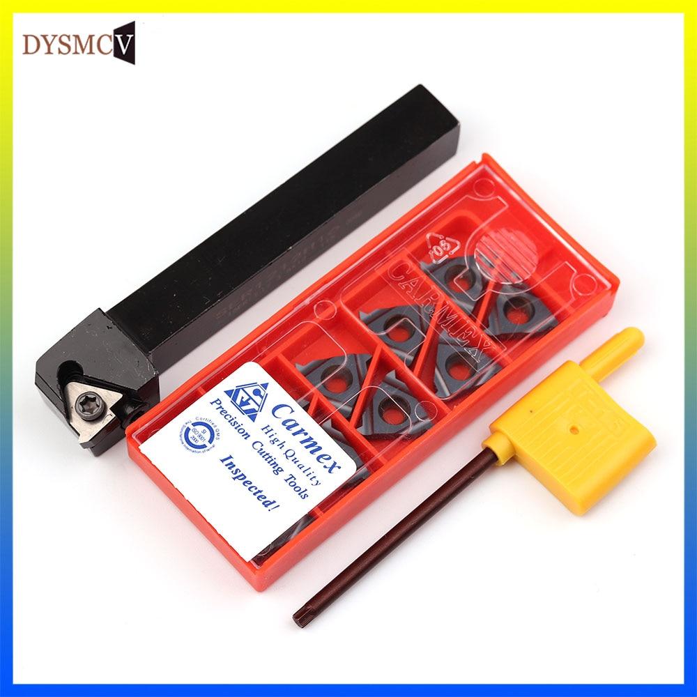 1 Uds SER2525M16 25*25 Torno CNC cortador de mecanizado herramientas de roscado externo portaherramientas SER2020K16 soporte de torneado de hilo