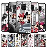 mickey minnie travel for xiaomi redmi note10 10s 9t 9s 9 8t 8 7 6 5a 5 4 4x prime pro max soft silicone phone case