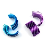 motor cooling heat sink top vented 540 545 550 size for 110 rc car buggy crawler rc boat hsp hpi wltoys himoto redcat