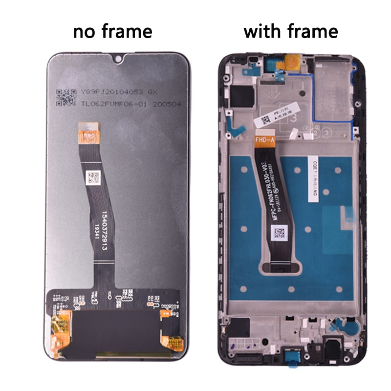 For Huawei P Smart 2019 LCD Display with Touch Screen Digitizer Assembly With Frame For P smart 2019 Repair Part enlarge