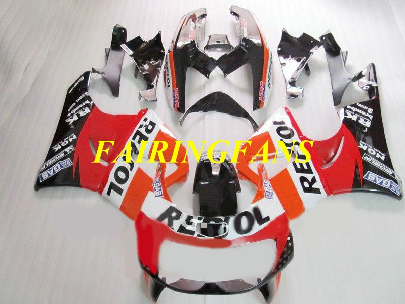 Fairing body kit for HONDA CBR900RR 893 96 97 CBR 900 RR CBR 900RR CBR900 1996 1997 Red REPSOL Fairings bodywork+gifts HN22