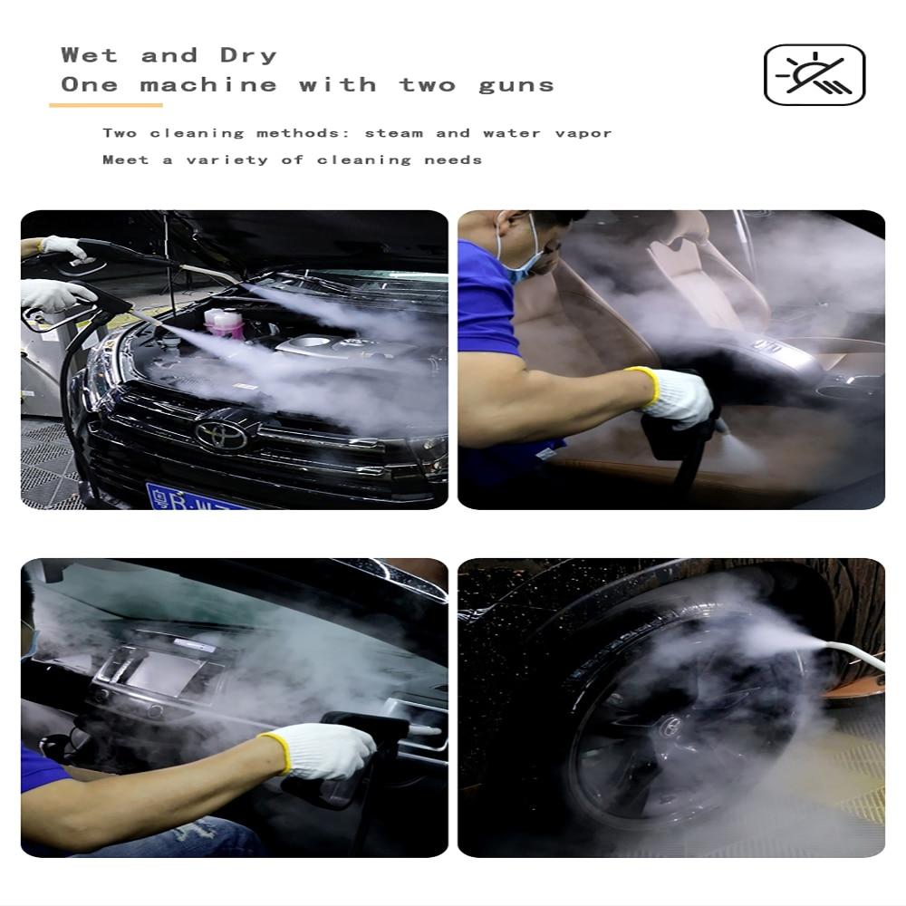 220V 9KW-30KW High-Power Steam Car Washing Machine Automatic Steam Washer High temperature sterilization For Car Wash Shop enlarge