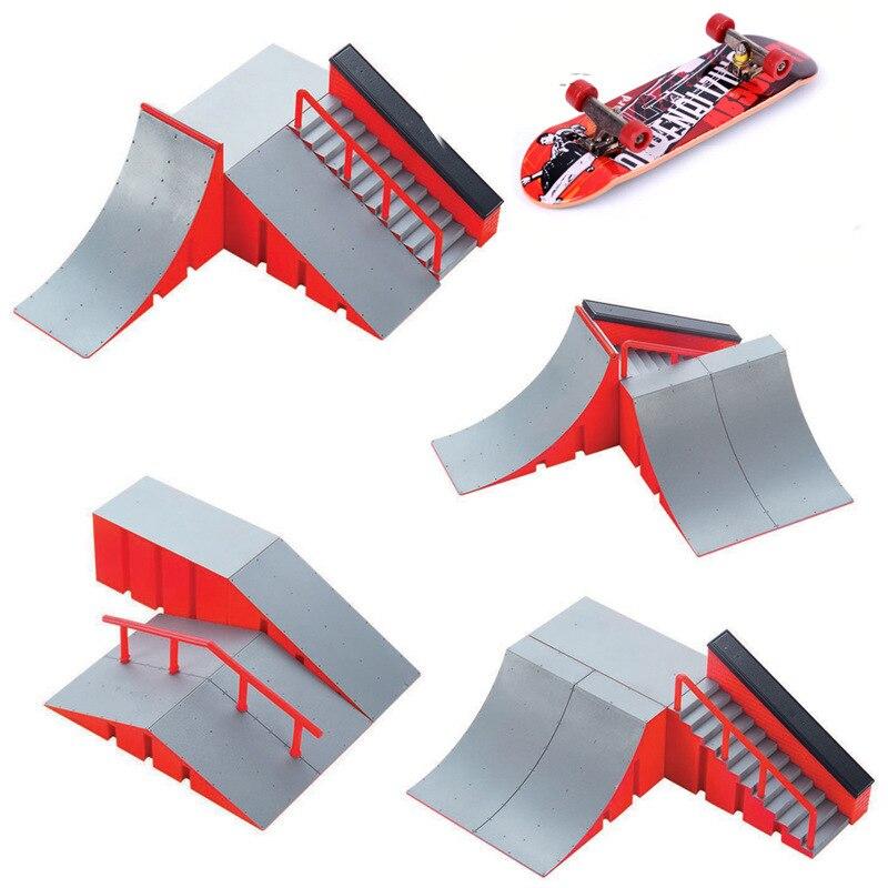 Мини игрушка для скейтборда скейт-парк для TechDeck, фингерборд, скейтборд, Ramps, фингерборд, Ultimate Park, тренировочная доска, игрушки для детей