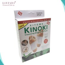 Cleansing Detox Foot Pads/Kinoki Detox Foot Pads Patches with Retail Box and Adhesive slimming (5Box=50pcs Pads+50pcs Adhesive)