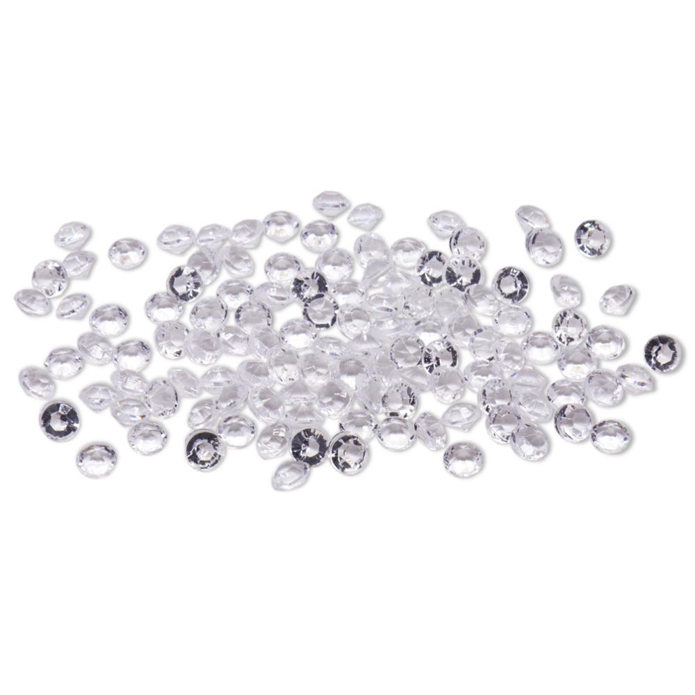 2000pcs 4.2mm Acrylic Crystal Diamond decorative dishes table deco de table for wedding birthday party Christmas decorative