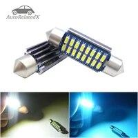 2x canbus led festoon 28mm 31mm 36mm 39mm 42mm sv85 c10w c5w led lamp lighting car dome bulb license plate light 12v white