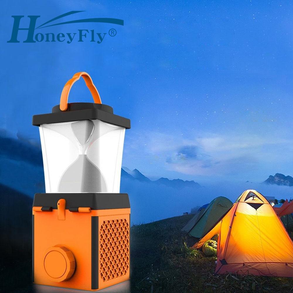 HoneyFly G2 Salt Water LED Lamp Lantern Brine Charging Sea Water Portable Travel Light Emergency Lamp USB Camping Hiking Outdoor