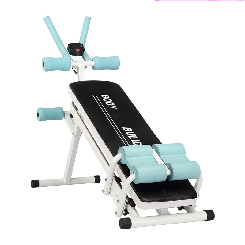 Máquina de Treinamento Abdominal Exercício Interior Fitness Barriga Fina Cintura Trainer Esporte Máquina Muscular Feminino ab